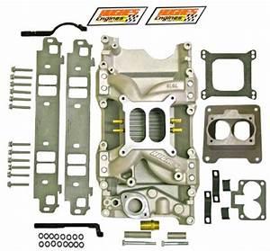 Hughes Engines   Edelbrock Fi Air Gap Kit