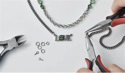 Chain Tutorial Pendant Necklace Cup Components