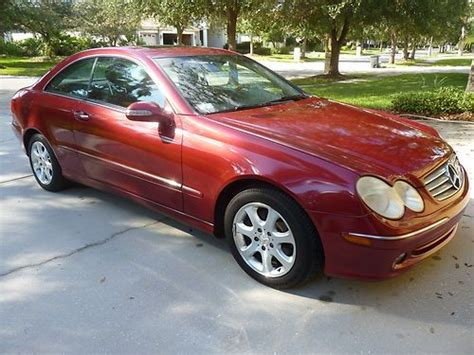 Sell Used Classy Yet Sporty Red Clk In Tampa, Florida