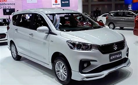 Suzuki Ertiga 2019 by Suzuki Ertiga Showcased With Sporty Kit At 2019 Bims