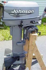 2000 Johnson 25hp Electric Start Outboard For Sale