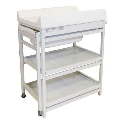 Table à Langer Comfort Baignoire Et Matelas Blanc Quax