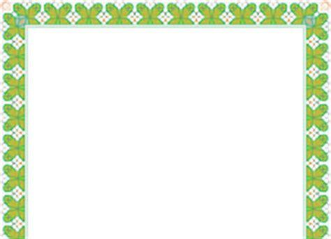 border sertifikat hijau  desain gratis