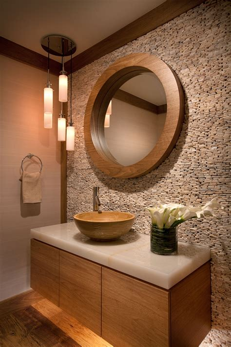 bronze bathroom vanity lighting 1103 powder room w design interiors
