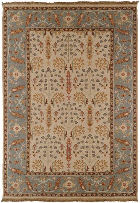 6x9 Wool Rug by 6x9 Surya Handmade Wool White 9008 Area Rug