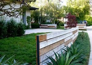Gartenzaun Günstig Selber Bauen : gartenzaungestaltung 20 beispiele f r selbstgebaute gartenz une zaun und garten pinterest ~ Markanthonyermac.com Haus und Dekorationen