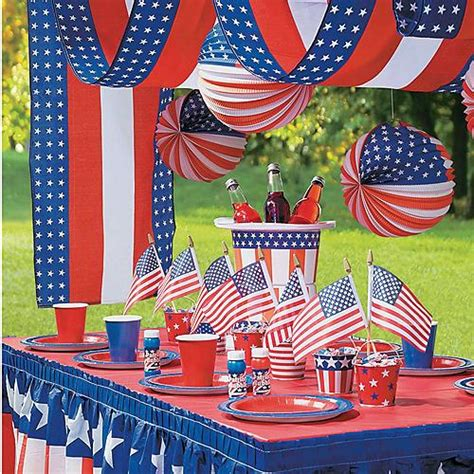 table centerpiece ideas patriotic decorations supplies trading
