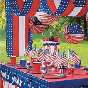 Patriotic Decorations & Party Supplies Oriental Trading