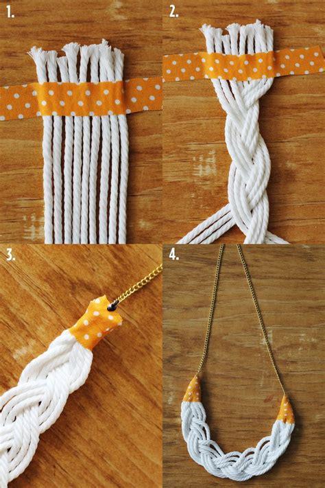 easy diy rope jewelry ideas fashionsycom