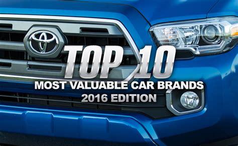 Top 10 Most Valuable Car Brands » Autoguidecom News