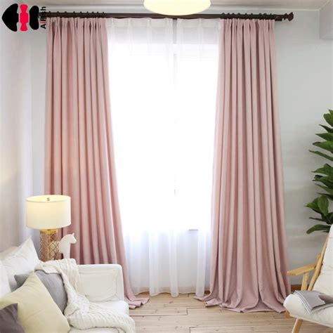 Aliexpress  Buy Simple Style Pink Linen Cloth Room