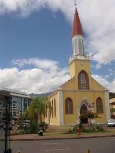 Downtown Papeete Tahiti