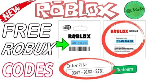 redeem roblox cards  codes   robux