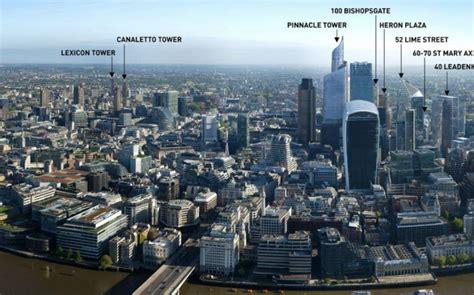 london    buildings due  change  london
