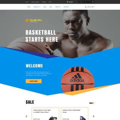 Dailysports Template Monster by Basketball Templates Templatemonster
