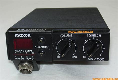 www cbradio nl pictures and specifications maxon mx 1000 fm cb radio