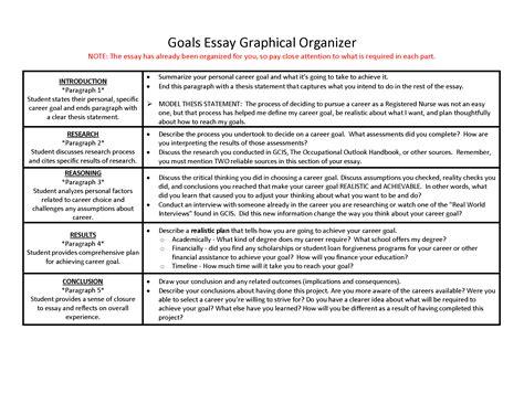 Essay On Professional Goals  Cfcpoland Essay Goals Essay Examples Career Goals Nursing Essay