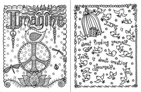 posh adult coloring book inspirational quotes  fun