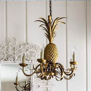 Pineapple Chandelier Lighting Graham and Green