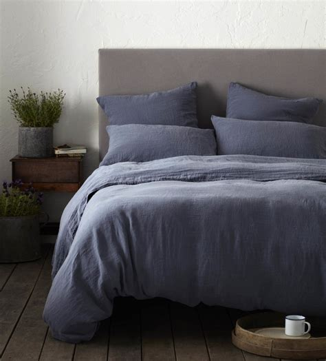 french blue 100 linen bedding collection secret linen store