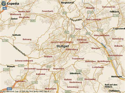 stuttgart on map maps of stuttgart