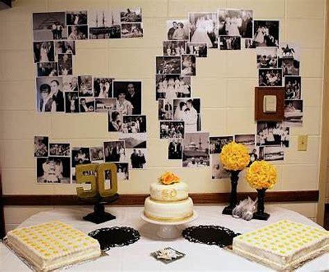 50th wedding anniversary favors