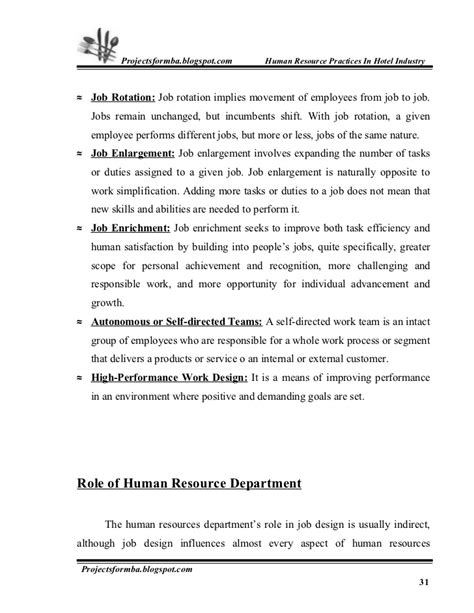 code of practice templates for an it industry a project report on hr practice in hotel industry