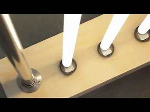 fluorescent tube floor lamp youtube With floor lamp with tube light