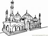 Mosque Masjid Coloring Gambar Mewarnai Pages Drawing Buildings Coloringpages101 Clipart Mosques Clip Getdrawings Find Cours Enfants Pour Clipartbest Cliparts Album sketch template