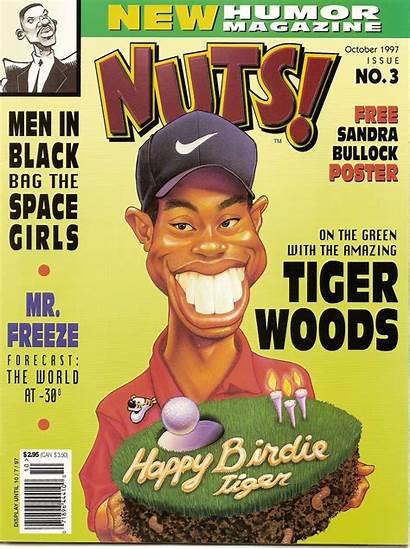 Nuts Humor Magazines Magazine Tiger Woods 1997