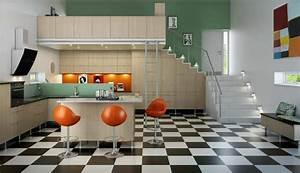 Mid 60s mod norwegian kitchen interior design ideas for 60s interior decorating