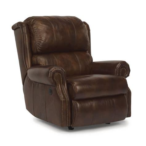 flexsteel 1227 500p comfort leather power recliner