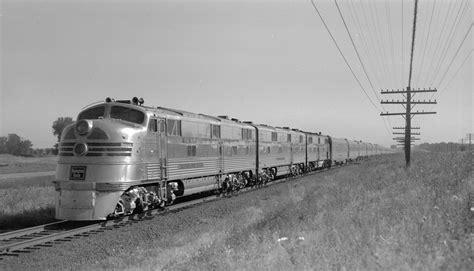 Chicago-Omaha-Denver 1950 Timetable