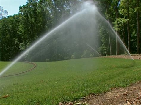 Tips On Installing A Sprinkler System