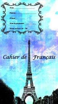 school  front page french book covers  mfl eal