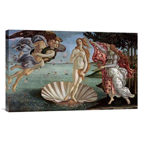 bentley global arts 39 the birth of venus 39 by sandro botticelli painting print on canvas walmart com