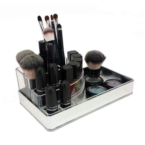 cosmetic organizer countertop new ondisplay deluxe makeup jewelry organizer acrylic