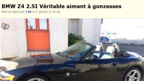 Le Bon Coin  L'hilarante Annonce D'une ''bmw Z4 25i