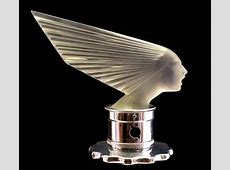 ArtDeco Hood Ornament In years past, just as today, car