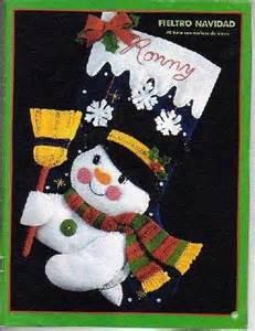 patrones y moldes de botas y botitas para navidad en fieltro gratis ecoartesanias