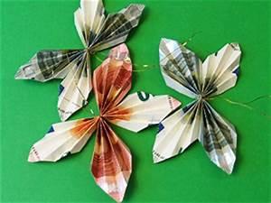 Schmetterlinge Aus Tonpapier Basteln : geldgeschenke als schmetterlinge basteln gestalten ~ Orissabook.com Haus und Dekorationen