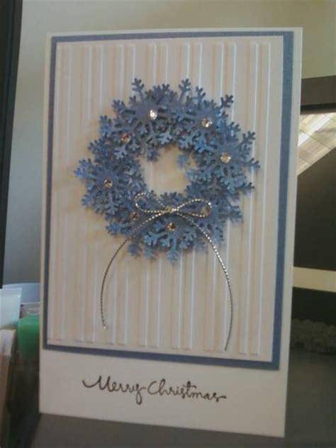 snowflake wreath  ladygtor  splitcoaststampers