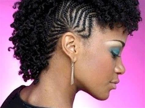 25+ Beautiful Braided Mohawk Hairstyles Ideas On Pinterest