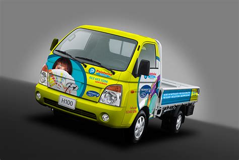 Hyundai H100 Hd Picture by Vehicle Branding Services Car Branding Wrapping