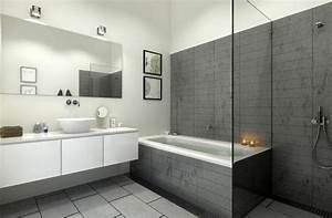 Salle De Bain En L : salle de bain douche italienne mv carrelage gembloux ~ Melissatoandfro.com Idées de Décoration