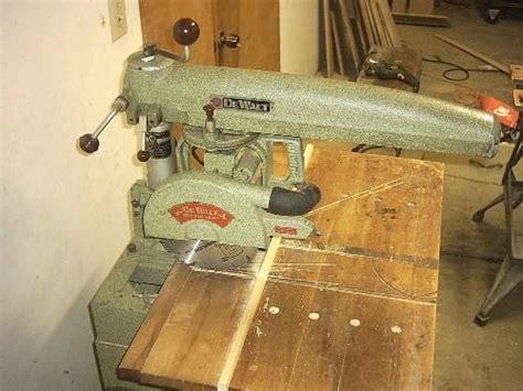 New Life For An Old Dewalt Radial Arm Saw