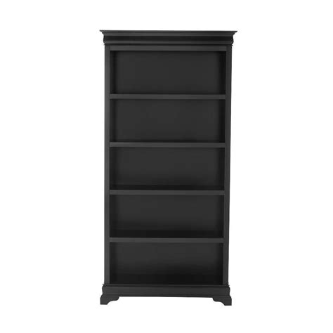 Home Bookcases by Home Decorators Collection Louis Philippe Black Open