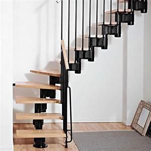 Escalier 1 4 Tournant Droit : escalier droit et tournant kompact ark en kit escalier norm ce ~ Dallasstarsshop.com Idées de Décoration