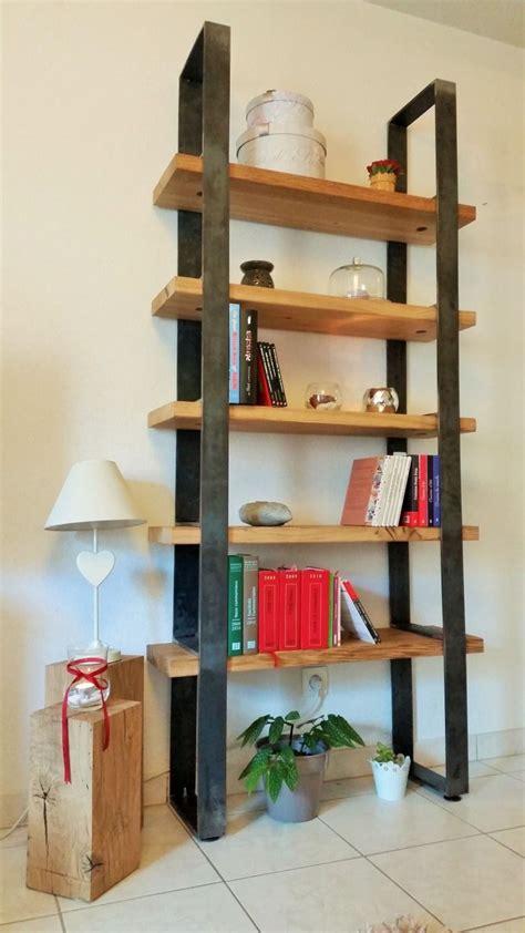 201 tag 232 re biblioth 232 que industrielle ch 234 ne massif acier brut recycl 233 shelves in 2019