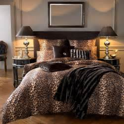 leopard bedroom decor
